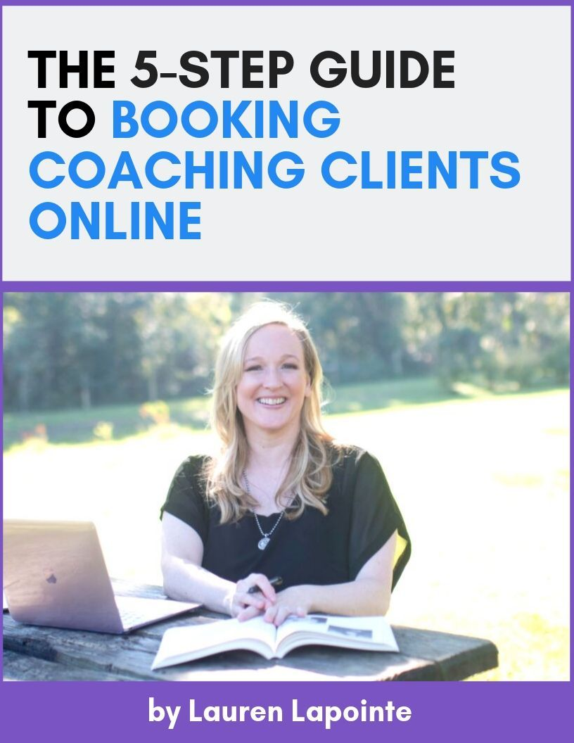 5-Step Guide to Booking Coaching Clients Online